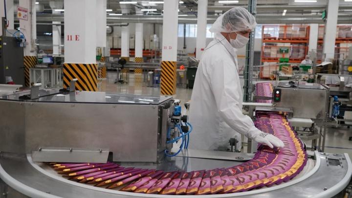 В Самаре на кондитерской фабрике «Нестле» запустили обновленную линию по переработке какао-бобов