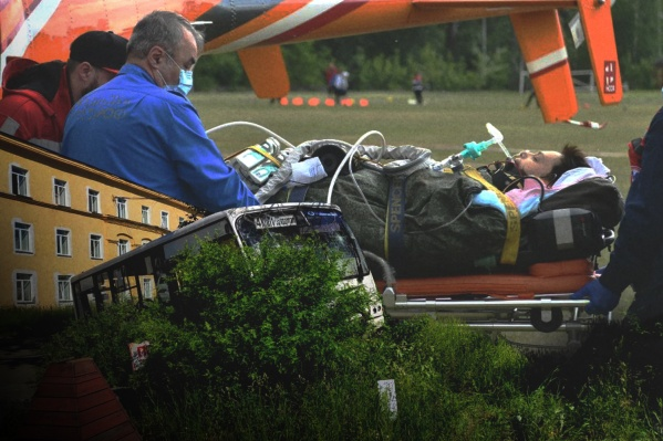 В маленьком городе Лесной в ДТП погибли 6 человек и еще 9 пострадали