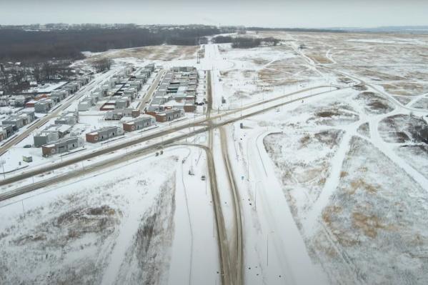 Северное шоссе сейчас не достроено. Оно задумывалось как дорога, которая соединит Крутые Ключи и Кошелев-Парк