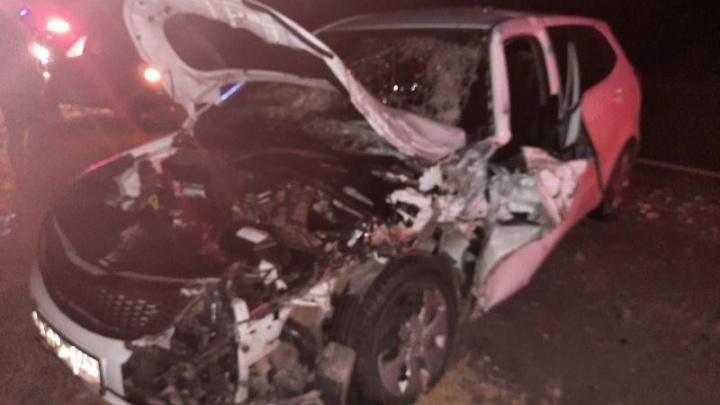 Машина выскочила с обочины: в Самарской области в ДТП с «Крузаком» пострадал ребенок