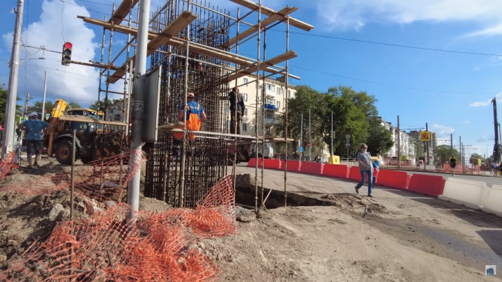 В Самаре на три дня полностью перекроют движение по улице Советской Армии