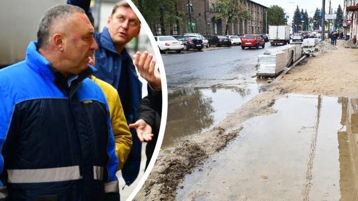 «Меня Волков вызвал»: в Ярославле доверили ремонтировать дороги и парки подрядчику с уголовным прошлым
