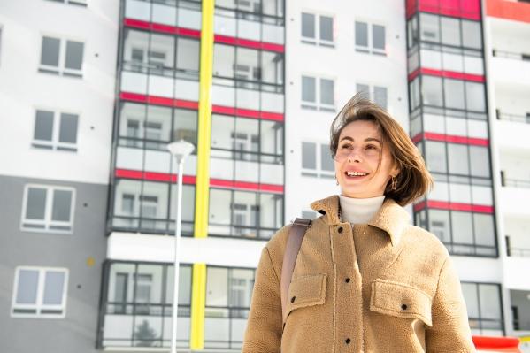 Анастасия Камаева влюбилась в Уралмаш еще в студенчестве
