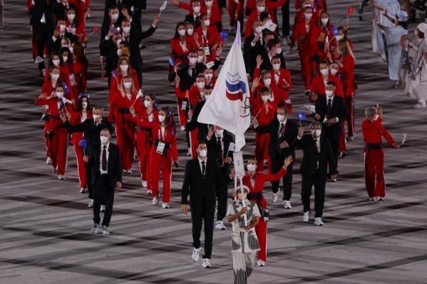 Максим Михайлов нес знамя на Олимпиаде в Токио