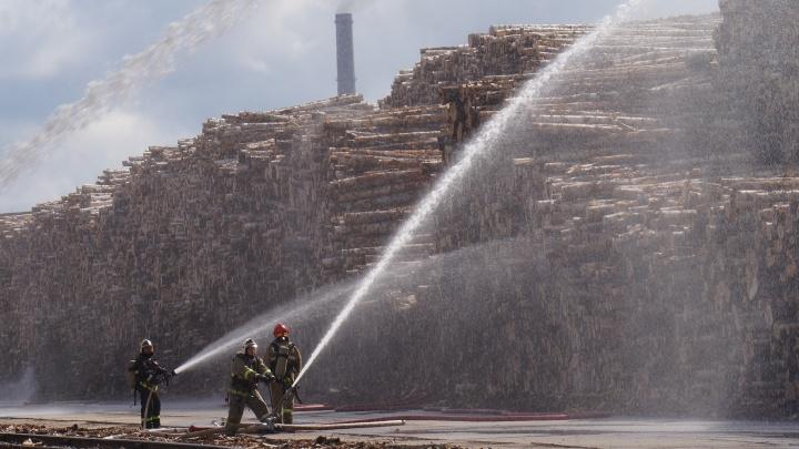 Предотвратили катастрофу: на АЦБК прошли масштабные учения по ликвидации пожара