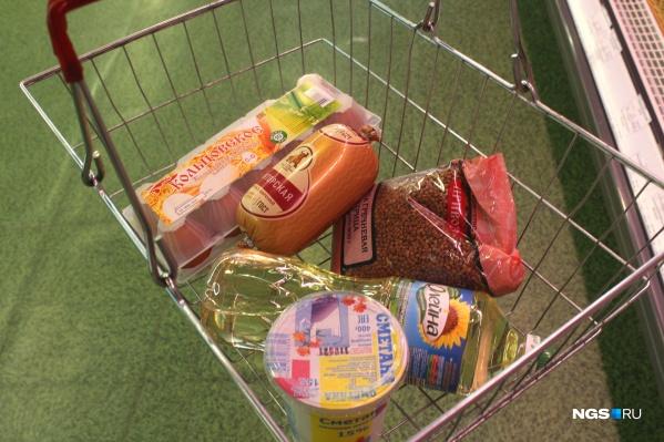 Многие продукты подорожали на 5–17% всего за пять месяцев