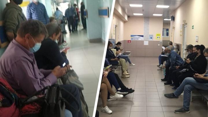 «По 40 человек в один кабинет»: почему в тюменских поликлиниках многочасовые очереди — ответ департамента