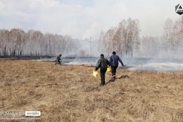 Из-за серьезных пожаров на юге Тюменской области объявили о чрезвычайной ситуации. С природными пожарами борются уже 5-й день