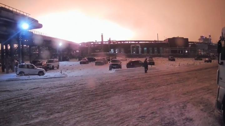 На заводе «Уфаоргсинтез» в Уфе произошел взрыв