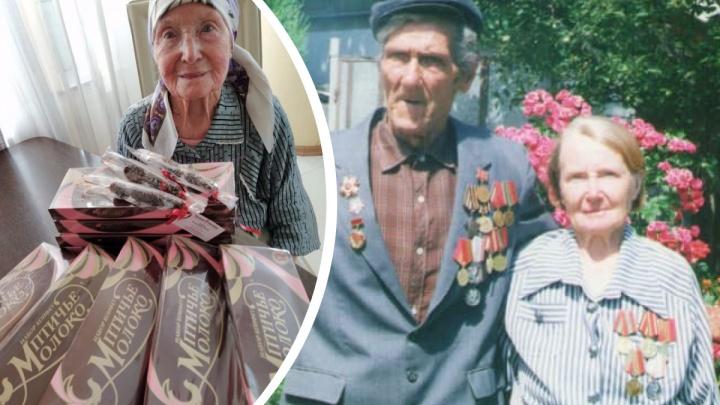 Сибиряки исполнили мечту 95-летней женщины из Бишкека — она очень хотела «Птичье молоко» из Новосибирска