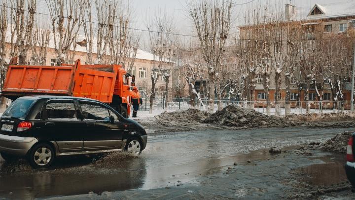 В Тюмени больше 30 домов остались без горячей воды и отопления из-за аварии