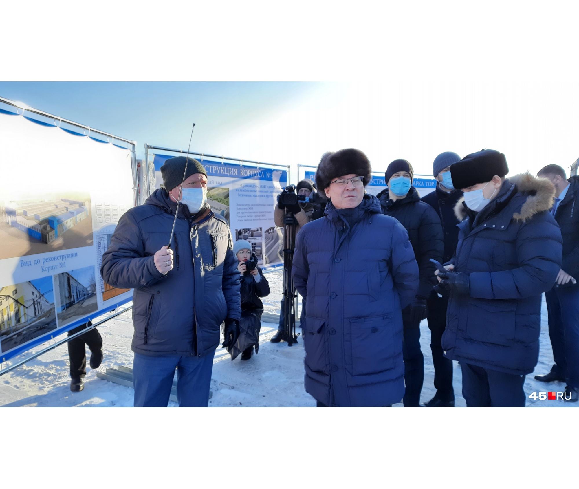 Реконструкция зданий в индустриальном парке обошлась почти в полмиллиарда рублей