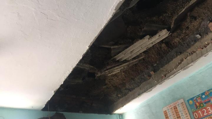 В Башкирии из-за обрушения потолка в деревенской школе возбуждено уголовное дело