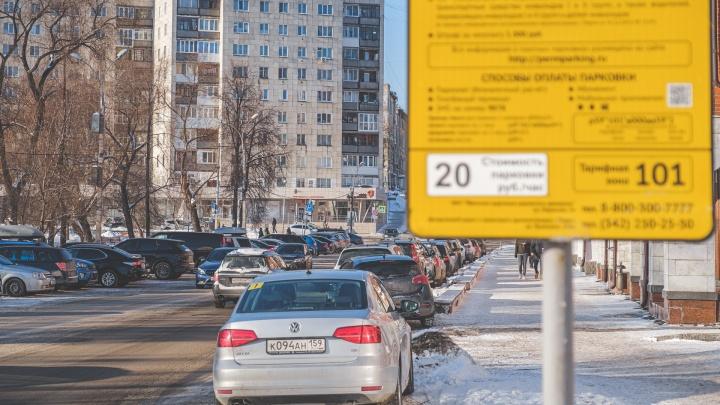 В Перми к лету планируют ввести льготу для многодетных на оплату парковки