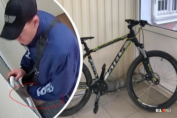 Кражи велосипедов попали на множество камер
