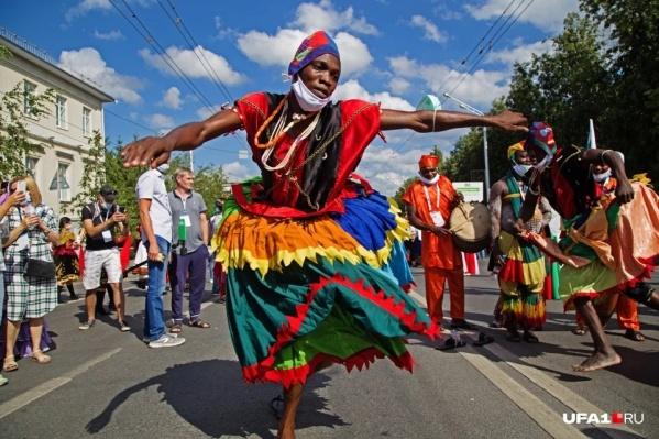 Несмотря на то что в Бирске отменили мероприятие, в Уфе проходит Всемирная фольклориада