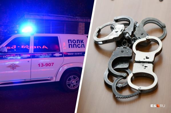 Задержанным полицейским грозят большие тюремные сроки