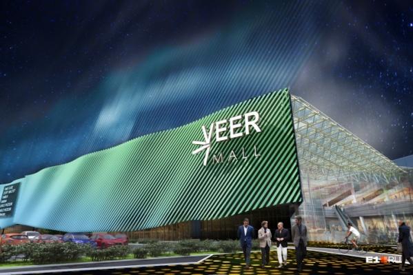 """Общая площадь Veer Mall — <nobr class=""""_"""">167 тысяч</nobr> кв. м"""