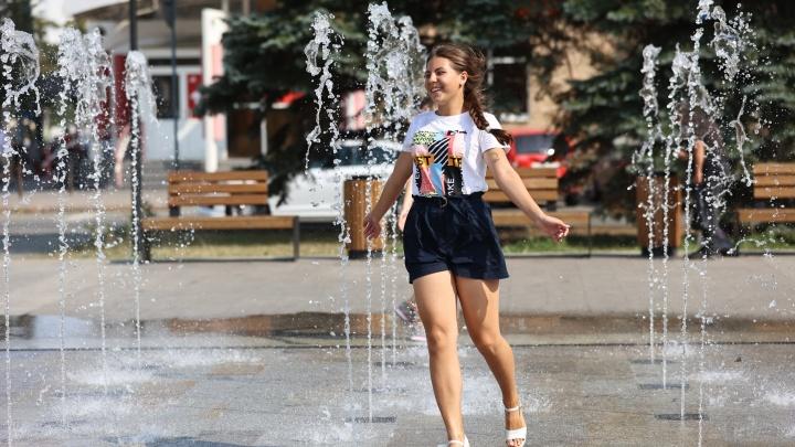 В Челябинске за неделю до начала календарной осени побит температурный рекорд 108-летней давности