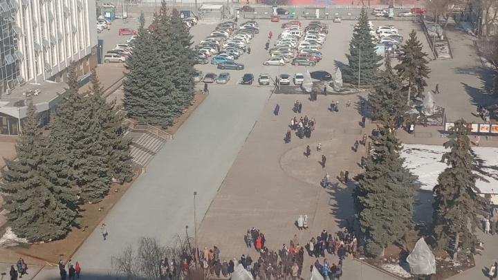 Администрацию Тюмени эвакуировали. Что случилось
