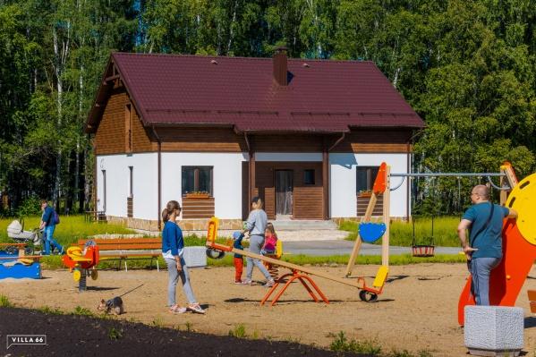 Новый поселок находится в престижном Сысертском районе