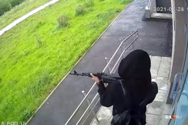 Звуков выстрелов горожане не слышали