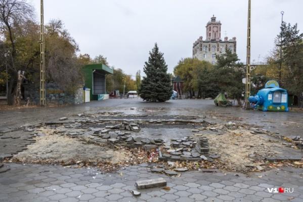 С огорода начнется масштабное преображение Комсомольского сада