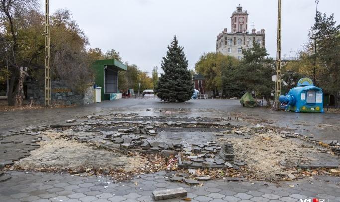 «Дурацкими пластиковыми фигурами наш город наелся»: три космических планеты подсветят Комсомольский сад Волгограда