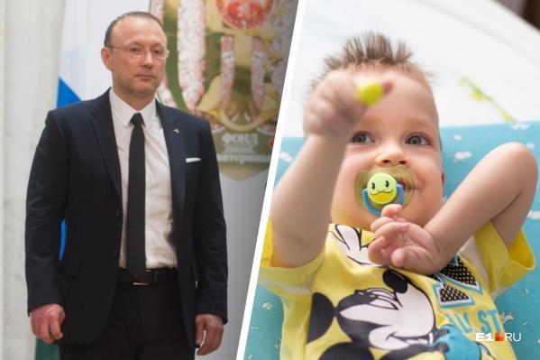 105 из 150 миллионов рублей, необходимых для спасения Саши, передал Игорь Алтушкин