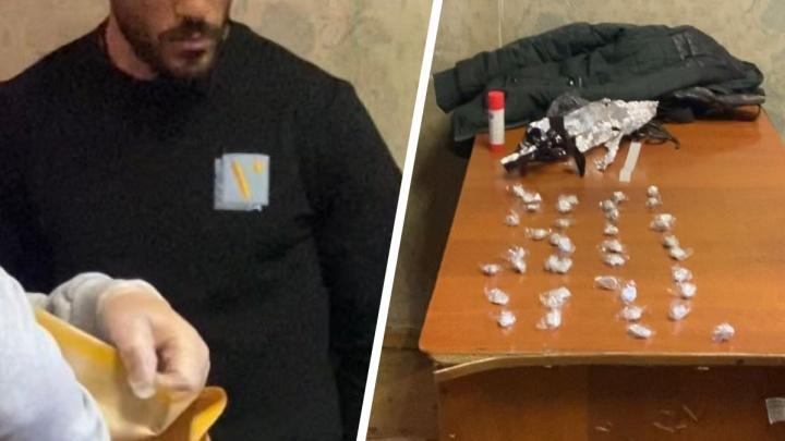 В Челябинске двух студентов из Египта задержали за торговлю наркотической солью