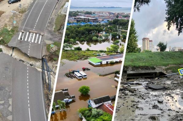 От циклона пострадали несколько районов края