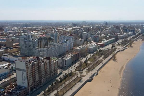 Самарская набережная считается одной из самых красивых в России