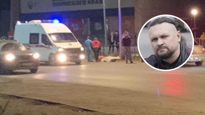 В Чайковском погиб в аварии президент местного байкерского клуба