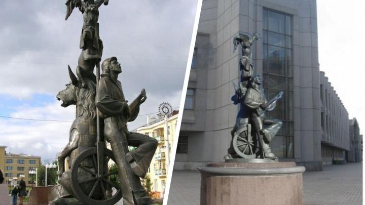 Красноярский музыкальный театр высказался против установки у себя скульптуры «Бременские музыканты»