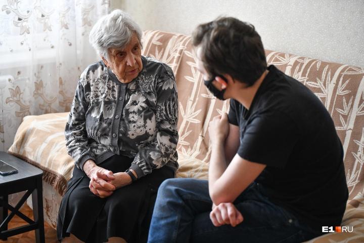 Недавно Антонина Феликсовна переболела коронавирусом