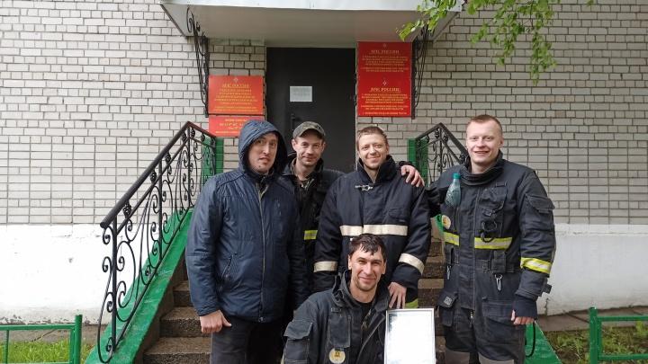 Пожарно-газоспасательная служба АЦБК вошла в тройку лучших в регионе