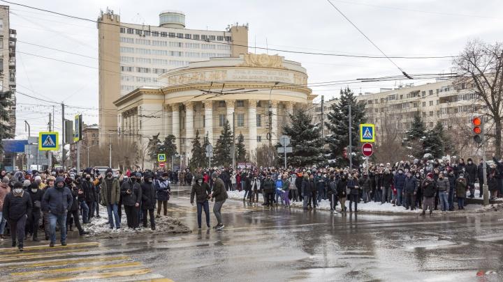 Самым молодым — по 18 лет: в Волгограде оштрафовали всех задержанных участников несанкционированной акции протеста