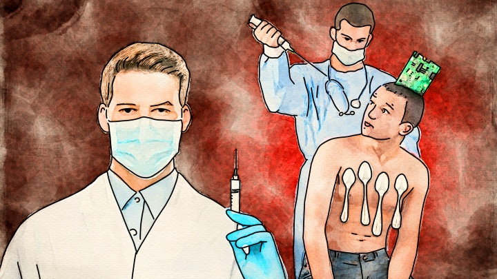 К месту прививки примагничиваются монеты? Топ-4 страшилки про вакцинацию от ковида — что правда, а что нет