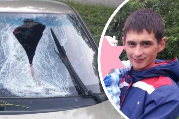 Рауфан Хамзин не заметил, что кусок тормозного барабана от его фуры смертельно ранил встречного водителя