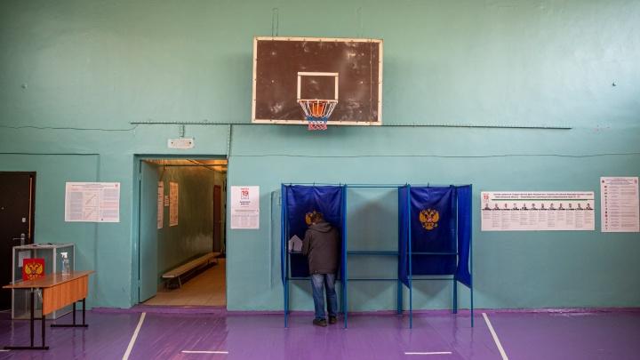 В Новосибирской области завершился первый день голосования. Сколько человек проголосовали?