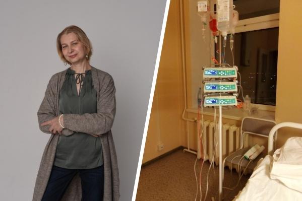 """Ольга Чуракова впервые узнала о своем страшном диагнозе в <nobr class=""""_"""">53 года</nobr>. Долгое время до этого она не могла понять, почему ее состояние ухудшается"""