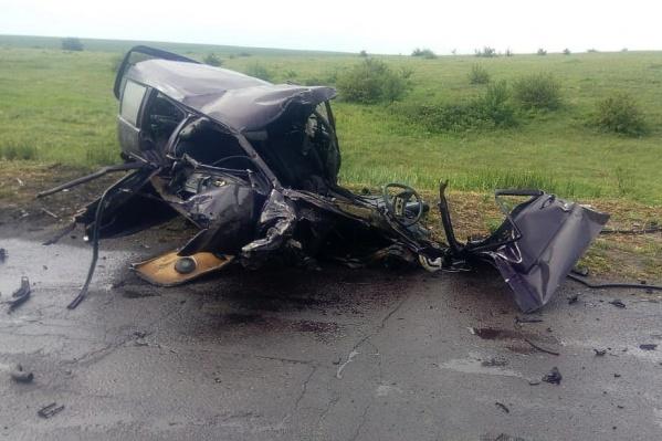 Авария унесла жизни двух молодых парней