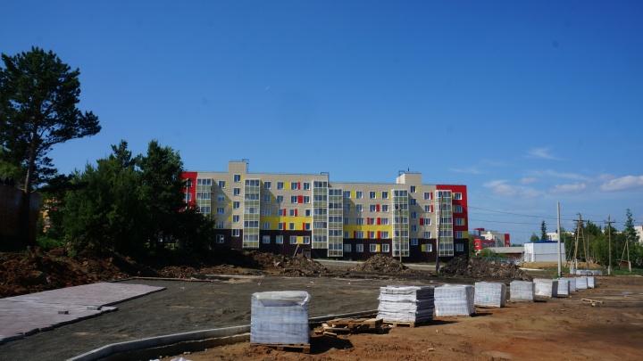 «Мечта» в Таежном: в поселке Богучанского района строят современный парк культуры и отдыха