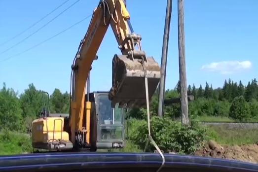 После жалобы Путину в следком направили материалы проверки о затопленной дороге в Лесосибирске