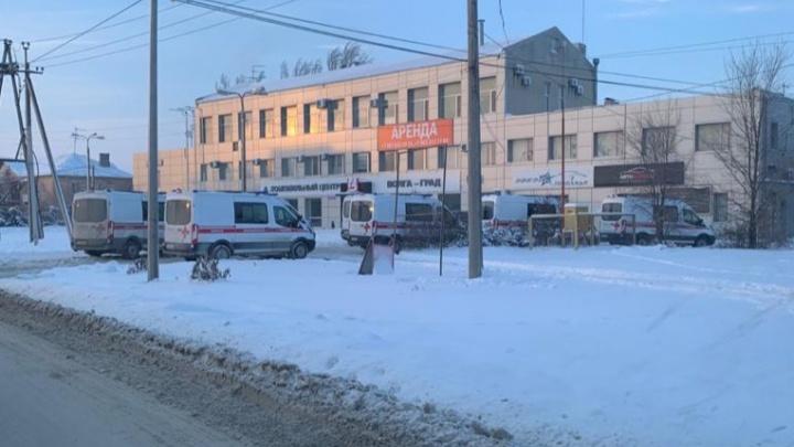 В Волгограде новые машины скорой помощи не выдержали мороза