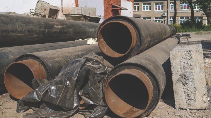 В Перми две сотни домов останутся без горячей воды из-за опрессовки