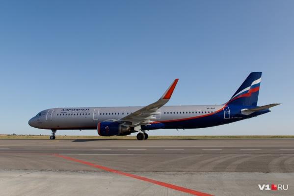 Самолет летевший из Волгограда приземлился в Москве на полчаса раньше, чем указано в расписании