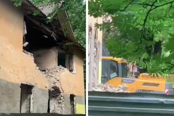 Жители соседних домов в шоке от происходящего