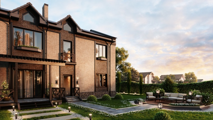 Три этажа, мансарда, участок и парковки: стартовали продажи домов за 2,95 млн рублей, ипотека от 2,7%