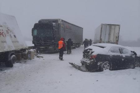 Участниками аварии стали водители шести машин